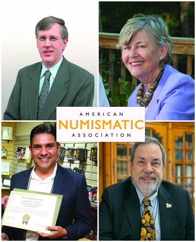 thumbnail image for ANA Honors Distinguished Numismatists with Awards