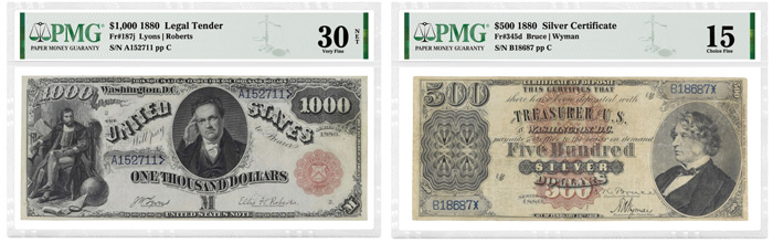 Online bidding for the Stack's Bowers American Numismatic Association Auction of US Currency is already underway for the sale, which will be held on August 18, 2021.