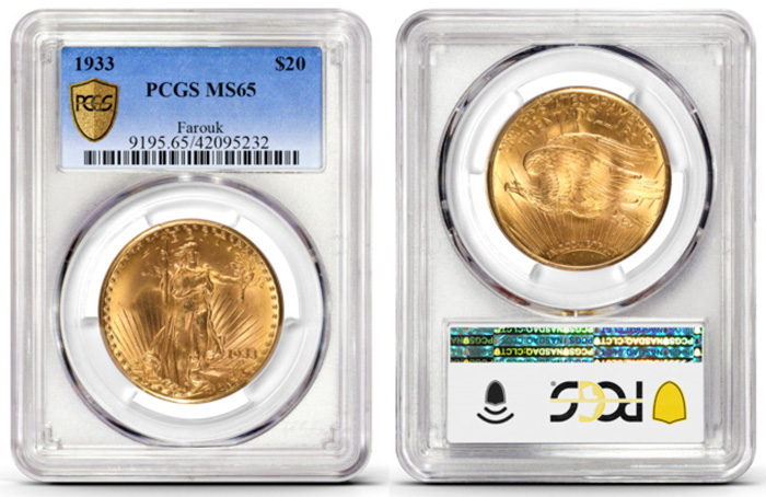 thumbnail image for World's Most Valuable and Famous Rare Coin, 1933 Double Eagle, at Chicago World's Fair of Money®