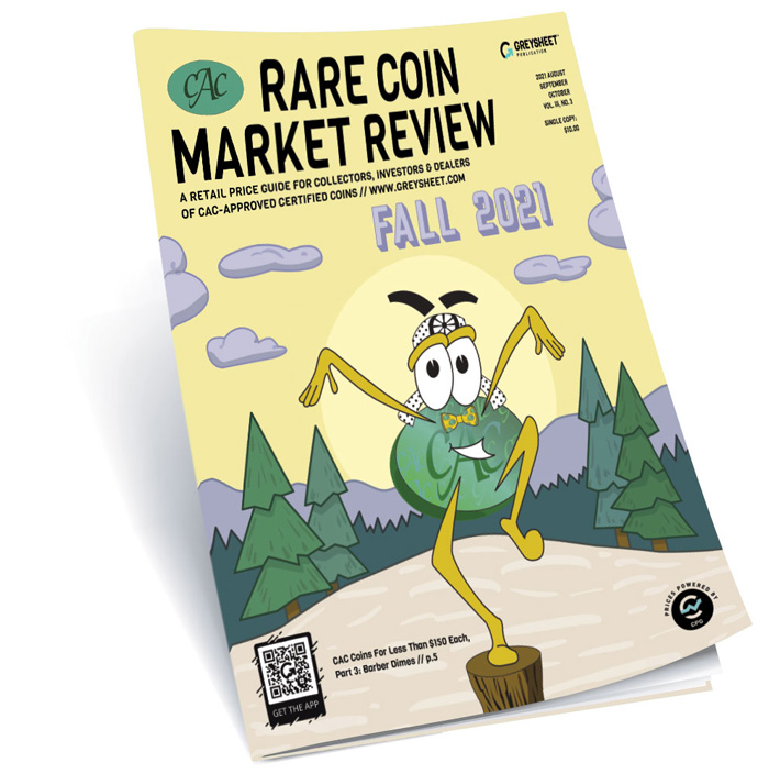thumbnail image for CAC Rare Coin Market Review Fall 2021 Publisher's Message