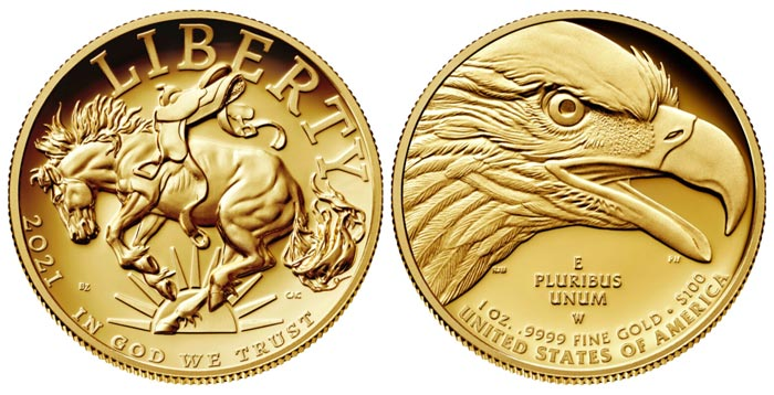 thumbnail image for U.S. Mint American Liberty High Relief Gold Coin Available August 19