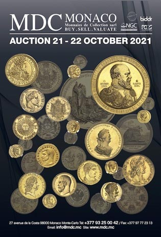 MDC Monaco Coin Auction