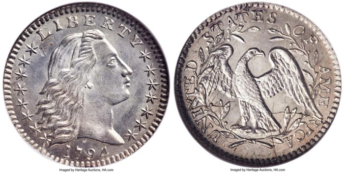 thumbnail image for Amazing Half Dime From the Fledgling US Mint