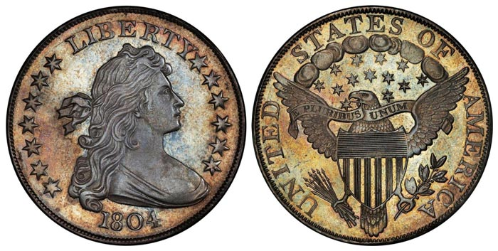 This 1804 dollar now ranks as the fifth most valuable coin ever sold at auction.