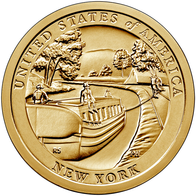 thumbnail image for United States Mint Opens Sales for New York American Innovation® $1 Coin Products August 31