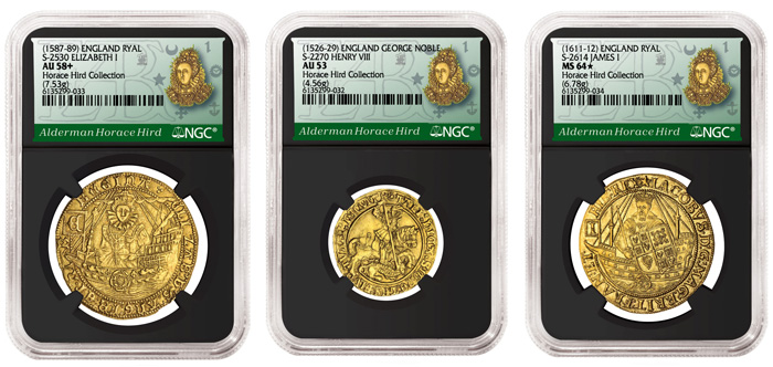 thumbnail image for Rediscovered English Gold Coins from the Horace Hird Collection Certified by NGC and Offered in Upcoming Spink Auction