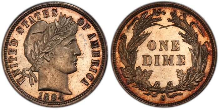 thumbnail image for Legend Numismatics Buys Eliasberg 1894-S Dime For $1.8 Million, Now In Bruce Morelan's Collection