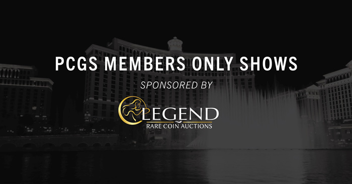 thumbnail image for Legend Rare Coin Auctions Renews Sponsorship of PCGS Members Only Shows