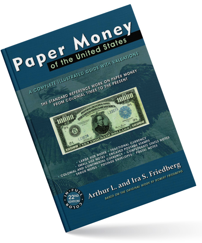 thumbnail image for Recently Published Books: Paper Money of the United States