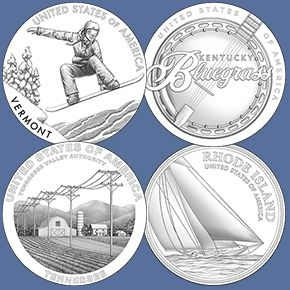 thumbnail image for United States Mint Announces 2022 American Innovation® $1 Coin Program Designs