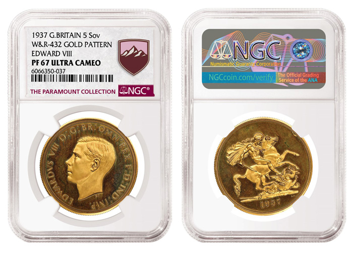 thumbnail image for Edward VIII Pattern Leads Extraordinary Group  of NGC-certified Rare Coins in MDC Monaco Sale
