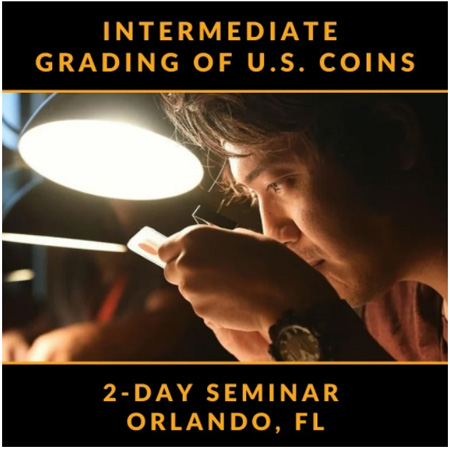 thumbnail image for Learn Coin Grading Standards from Professionals at FUN Show
