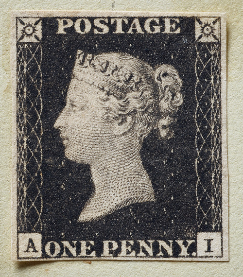 thumbnail image for Sotheby's to Offer the World's First Postage Stamp: The First Penny Black -- Estimate £4 – 6 million